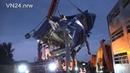 03.09.2018 - VN24 - Tödlicher LKW-Unfall auf A2 in Dortmund - Schweinetransport fährt auf Stauende