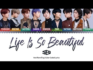 SF9 () - Life Is So Beautiful Lyrics Color Coded-Han/Rom/Eng