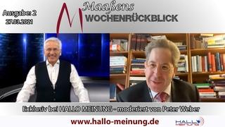 Maaßens Wochenrückblick - Ausgabe: 2 () - moderiert von Peter Weber