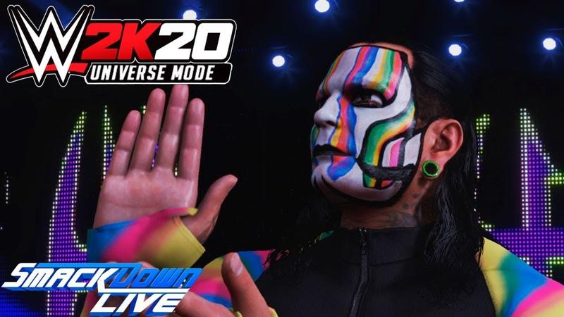 WWE 2K20 Universe SmackDown LIVE На Русском 5