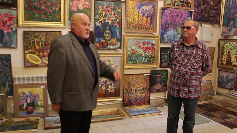Открытие художественной выставки А. Раффи -Краски жизни- 2018 г.