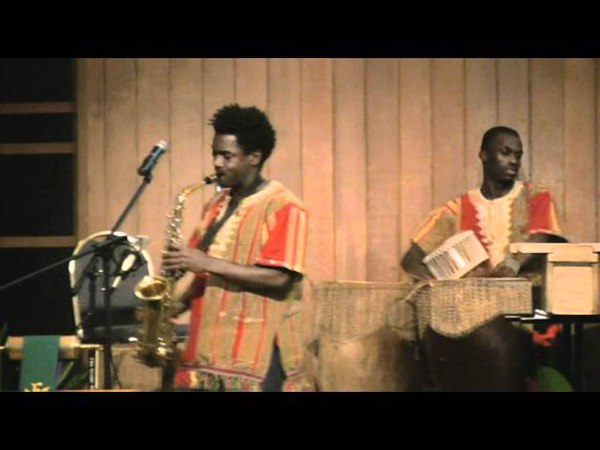 East African Saxophone Player - Mugenyi Brian