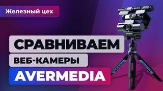 ЖЕЛЕЗНЫЙ ЦЕХ ИГРОМАНИИ | Сравнительный тест веб-камер AverMedia. От 3000 до 17 000 рублей
