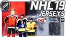 NHL19 Jerseys I Trikots DEL EBEL NLA ★ Gamescom2018 I NHL 19