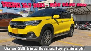Suzuki XL7 2021 màu vàng đen | Giá 589 triệu | Sơn đổi màu free theo ý thích | Suzuki Việt Long