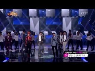[720p] 131227 INFINITE - Man in Love @ 2013 KBS Gayo Daejun