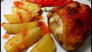 """Куриные бёдра с """"СЕКРЕТОМ""""! Пробовали ТАК ГОТОВИТЬ?  Chicken with a SECRET! Tried to cook like that?"""