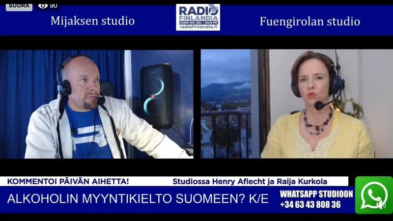 Lähde Radio Finlandia 30 03 2020 1 osa klo 21 00 facebook