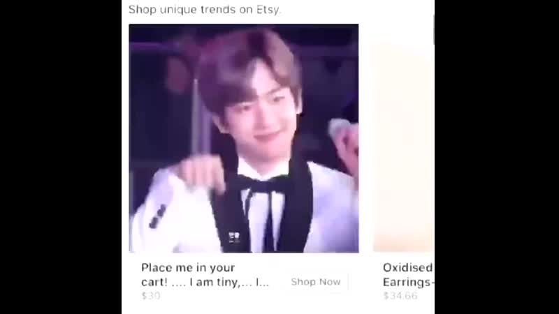 BAEKHYUN place me in your cart i'm tiny