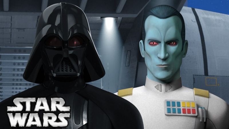 Darth Vader's Relationship to Grand Admiral Thrawn Star Wars Canon vs Legends