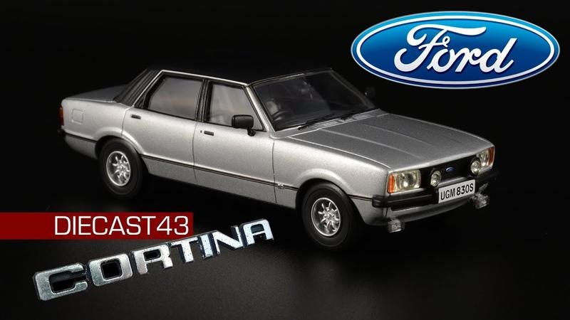 Ford Cortina Mk IV 3 0 Savage Vanguards Масштабная модель автомобиля 1 43