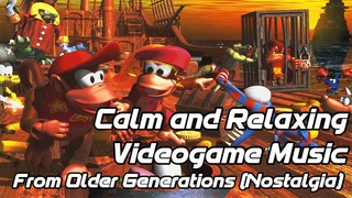 Calm and Relaxing Videogame Music from Older Generations (Nostalgia)