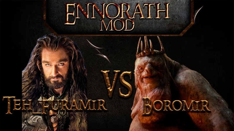 BFME Ennorath mod Clanwar Old Boys vs MERCY Teh Furamir vs Boromir game1