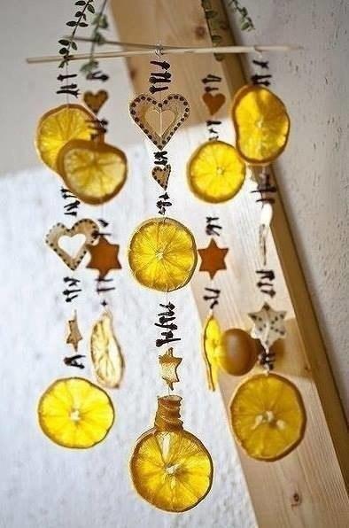 Цитрусовый декор