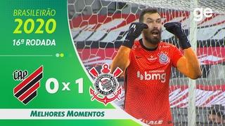 ATHLETICO-PR 0 X 1 CORINTHIANS | MELHORES MOMENTOS | 16ª RODADA BRASILEIRÃO 2020 |