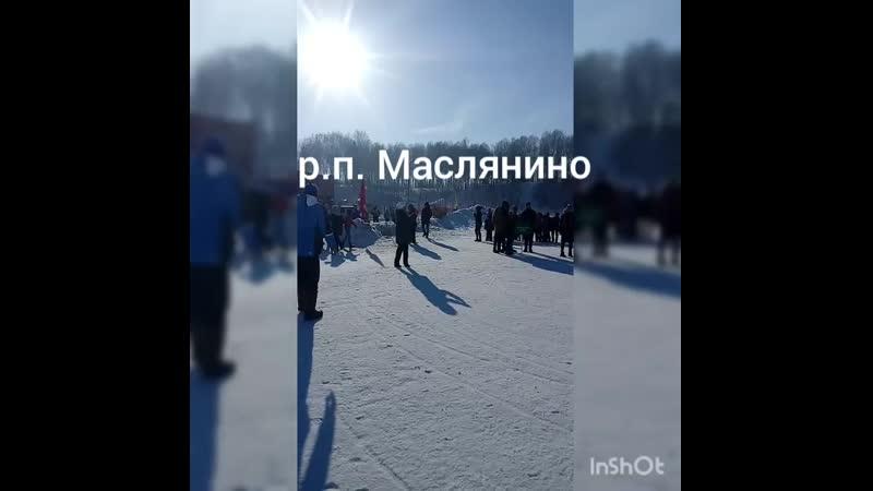 Серебряная снежинка Маслянино март 2019