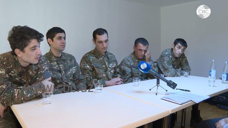 Признание армянских военнопленных Карабах это Азербайджан
