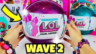 PURPLE LOL PEARL SURPRISE!! WAVE 2 | PRECIOUS & LIL PRECIOUS |  LIMITED EDITION! FULL UNBOXING!