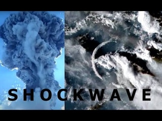 """Bizarre """"SHOCKWAVE"""" Seen SOARING Through the Sky in S Pacific - Just Came Out of Nowhere!"""