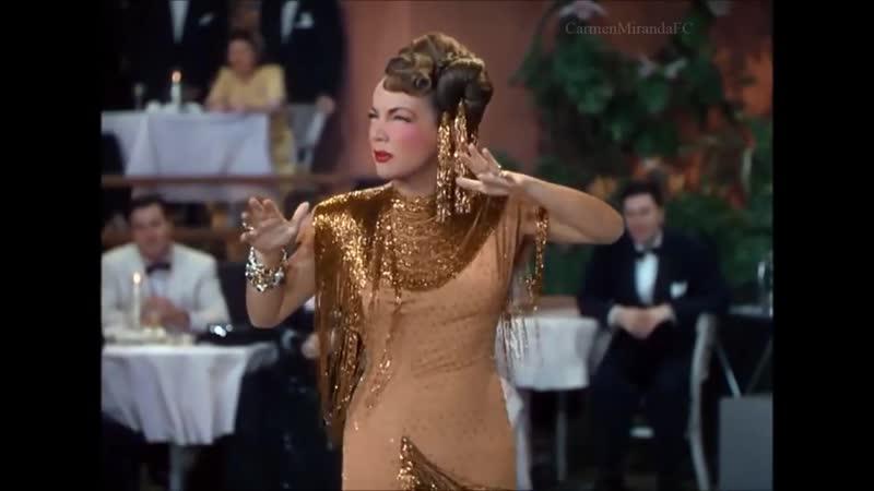 Cuanto Le Gusta исп браз и амер актриса и певица Кармен Миранда 1948г