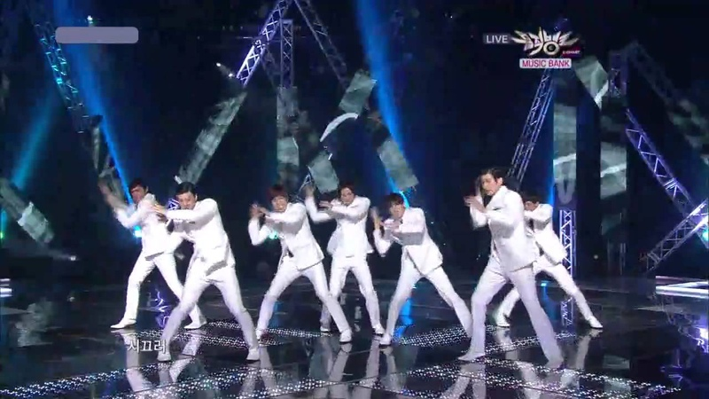 MV HD U KISS before yesterday LIVE AT MUSIC BANK