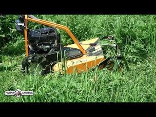 Косилка для высокой травы и кустов и кошения на склонах AS-Motor 63 2T ES