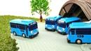 Otobüs Tayo klonlama makinesini kullanıyor. Araba oyunları.