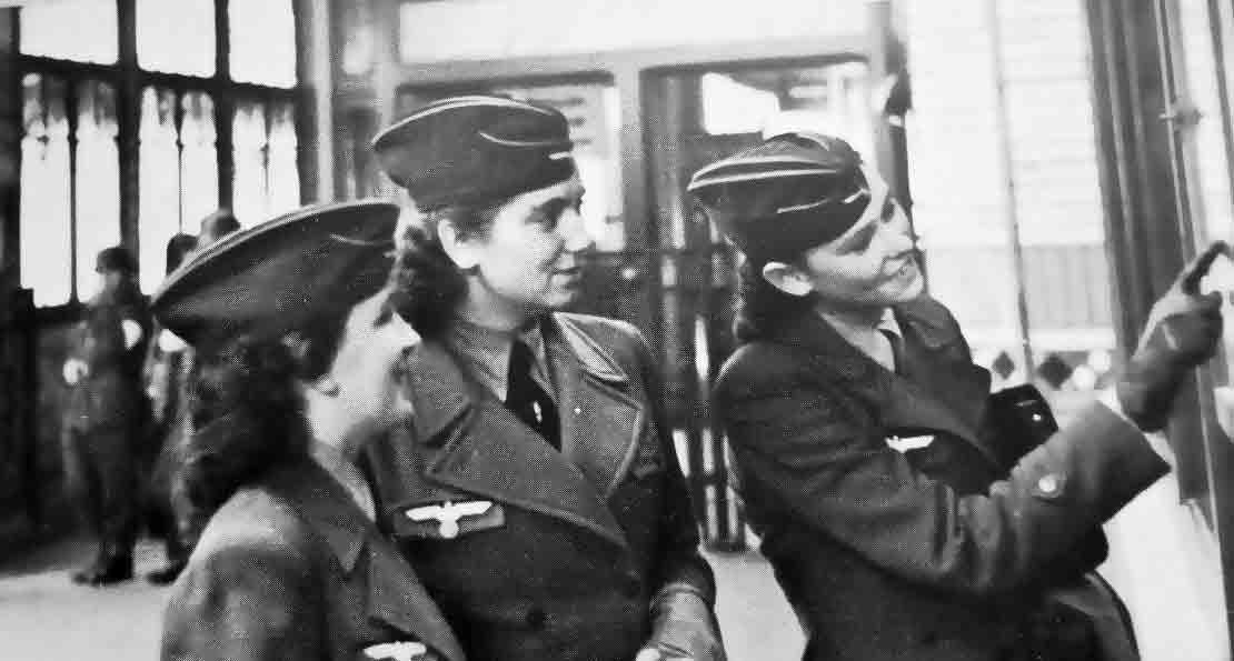 Немецкие связистки