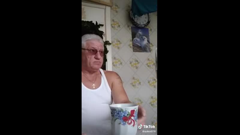 Дедуля покоряет тикток