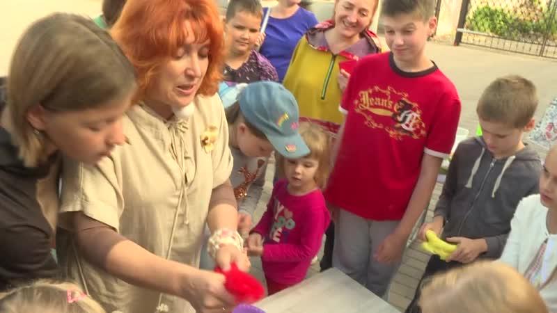 В Рязани прошел детский мастер-класс по валянию из шерсти