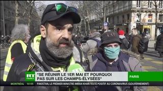 Paris : Jérôme Rodrigues appelle à une grande manifestation le 1er mai