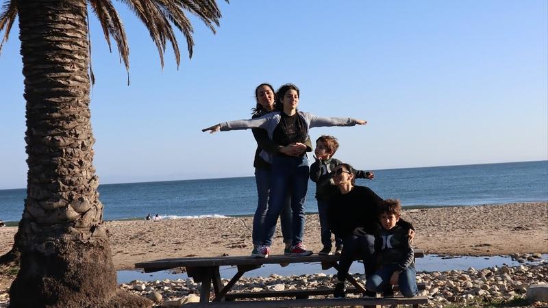 Գնում ենք Հանգստանալու Goleta Refugio Beach Heghineh Vlog 483 Mayrik by Heghineh