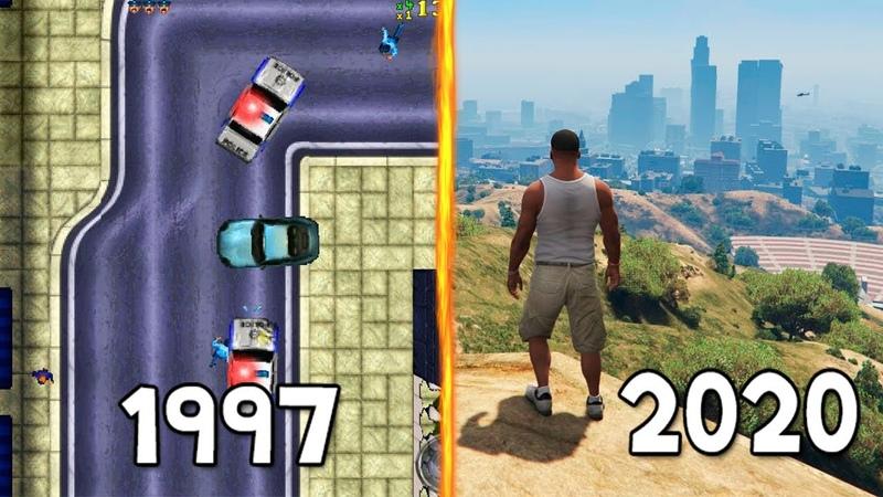Все ЧАСТИ GTA от ХУДШЕЙ к ЛУЧШЕЙ 1997 2020