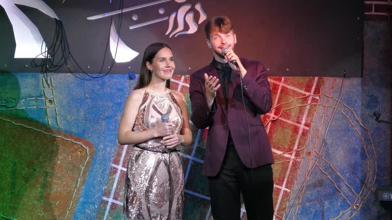 Волшебный мир из м ф Аладдин исполняют Денис Сорокотягин и Язиля Мухаметова