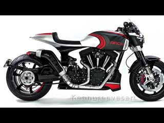 Evolution of ARCHMotorcycle