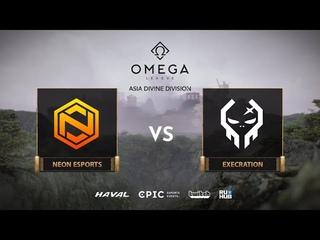 Neon Esports vs Execration, OMEGA League: Asia, bo3, game 2 [Mila & Lost]