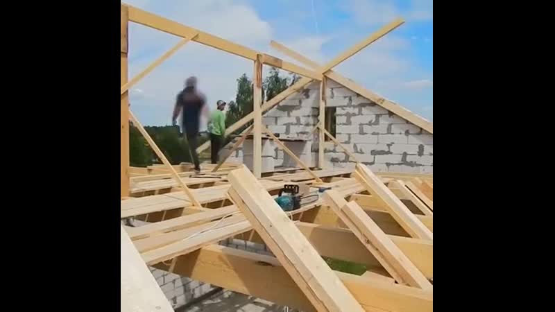Строительство крыши. Стропила - Идеи для сада | дача | ландшафт| огород