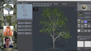 SpeedTree Live: Modeling a Tree in v9 with Lead Artist, Sarah Scruggs