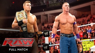 FULL MATCH - John Cena & The Miz vs. The Corre – WWE Tag Team Title Match: Raw, Feb. 21, 2011