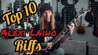 Top 10 Alexi Laiho Riffs