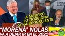 PANISTA dice MORENA No las Va Dejar IR Ademas Obrador se va a tener que Morder la Lengua