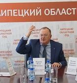 Иван Марков: «Мое кресло должен занять человек из судебной системы Липецкой области»