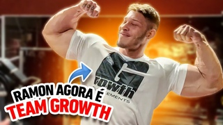 RAMON É TEAM GROWTH 🚀*bem-vindo dinossauro do acre*