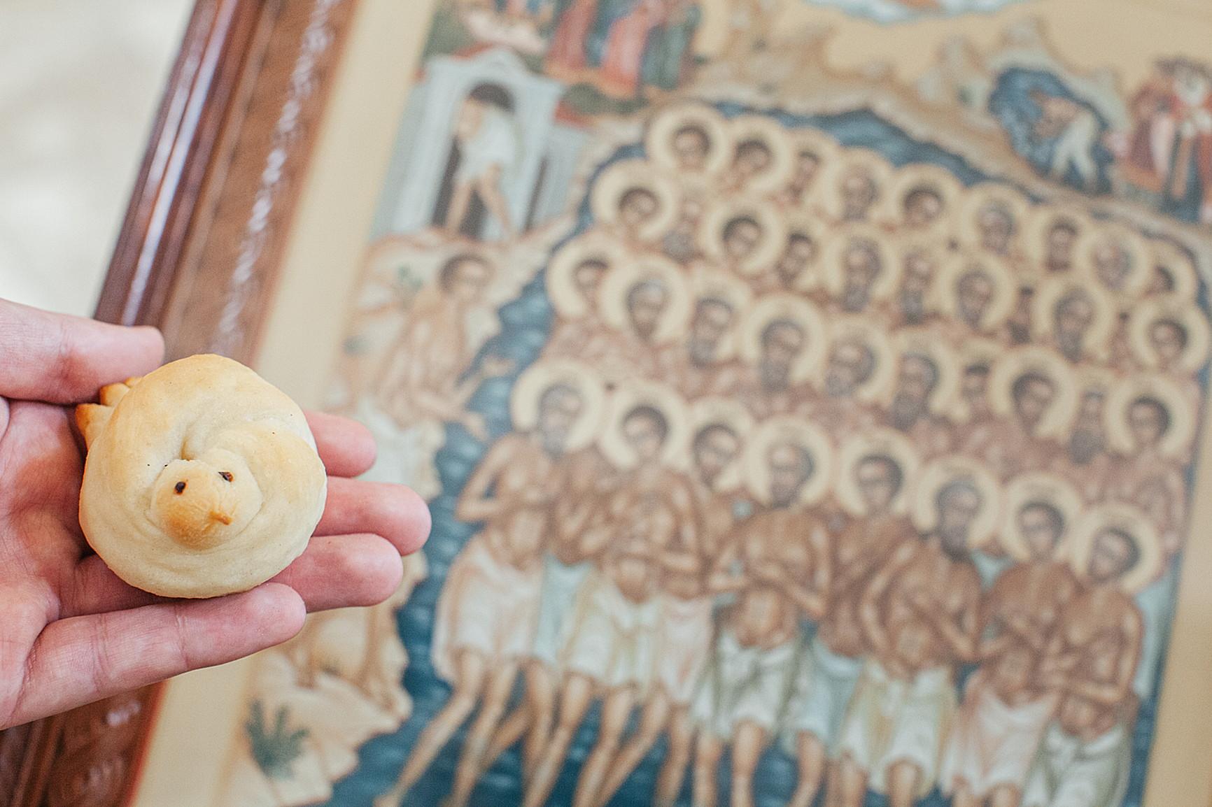 «День поклонения священному Кресту, придите к Нему все»: в Обители совершили богослужения Крестопоклонной Недели, изображение №9