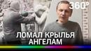 Война с ангелами вандал несколько лет разрушал скульптуры на старом кладбище в Петербурге - видео