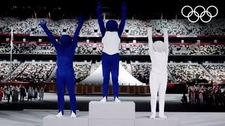 Токио-2020, Церемония Открытия: Япония оживила пиктограммы спорта