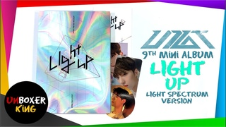 Up10tion 업텐션 9th Album ⚡💡🎊🪁🏮 - Light Up Light Spectrum Version Album Unboxing