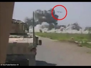 UFO Attacks, Destroys Taliban Camp in Afghanistan.