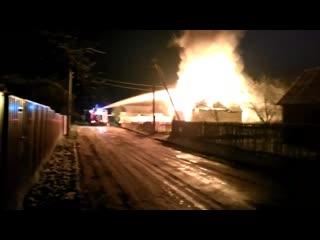 В Брестском районе произошёл пожар. Погибла женщина