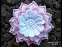 Flor Inglesa em Crochê